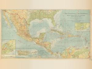 thumbnail for chart CR,1922,The Countries of the Caribbean
