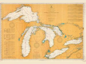 thumbnail for chart MN,1907, Northern And Northwestern Lakes