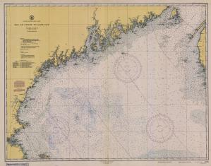 thumbnail for chart MA,1945, Bay Of Fundy To Cape Cod