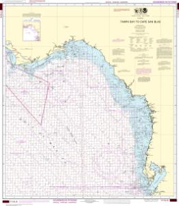 thumbnail for chart Tampa Bay to Cape San Blas (Oil and Gas Leasing Areas)