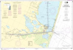 thumbnail for chart Intracoastal Waterway Stover Point to Port Brownsville, including Brazos Santiago Pass