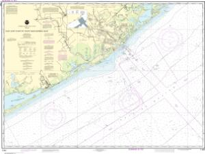 thumbnail for chart San Luis Pass to East Matagorda Bay