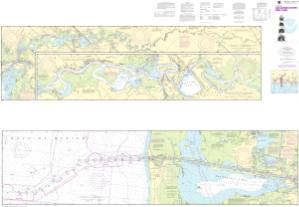thumbnail for chart Calcasieu River and Lake