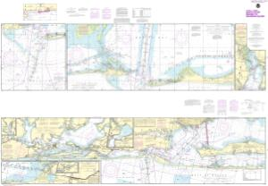 thumbnail for chart Intracoastal Waterway Santa Rosa Sound to Dauphin Island