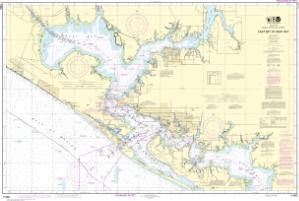 thumbnail for chart Intracoastal Waterway East Bay to West Bay