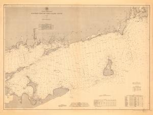 thumbnail for chart CT,1887,Eastern Part of Long Island Sound