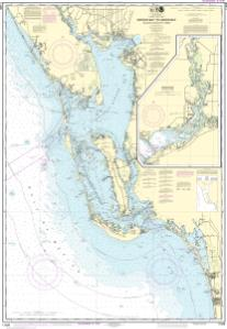 thumbnail for chart Estero Bay to Lemon Bay, including Charlotte Harbor;Continuation of Peace River