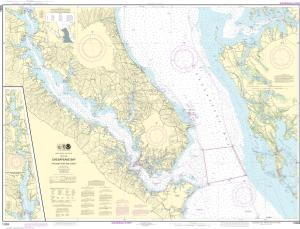 thumbnail for chart Chesapeake Bay Patuxent River and Vicinity