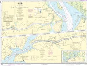 thumbnail for chart Chesapeake and Delaware Canal