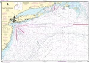 thumbnail for chart Approaches to New York, Nantucket Shoals to Five Fathom Bank