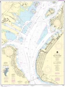 thumbnail for chart New York Harbor Upper Bay and Narrows-Anchorage Chart