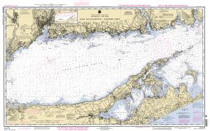 thumbnail for chart Long Island Sound Eastern Part Training Chart