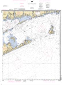 thumbnail for chart Block Island Sound No Loran Training Chart