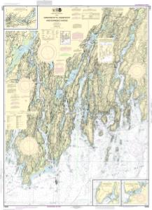 thumbnail for chart Damariscotta, Sheepscot and Kennebec Rivers;South Bristol Harbor;Christmas Cove