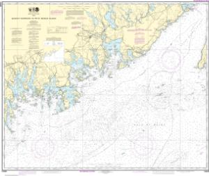 thumbnail for chart Quoddy Narrows to Petit Manan lsland