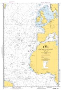 thumbnail for chart North Atlantic Ocean (Eastern Part)