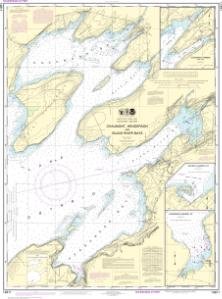 thumbnail for chart Chaumont, Henderson and Black River Bays;Sackets Harbor;Henderson Harbor;Chaumont Harbor