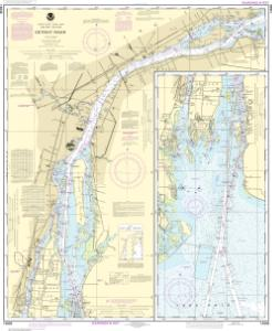 thumbnail for chart Detroit River