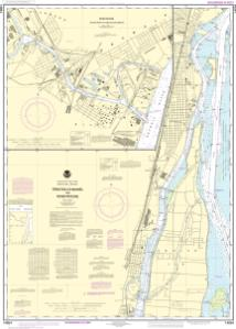 thumbnail for chart Trenton Channel and River Rouge;River Rouge