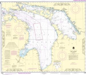 thumbnail for chart Lake Huron