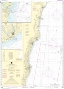 thumbnail for chart Algoma to Sheboygan;Kewaunee;Two Rivers