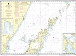 thumbnail for chart Upper Green Bay - Jackson Harbor and Detroit Harbor;Detroit Harbor;Jackson Harbor;Baileys Harbor