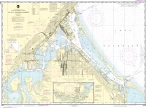 thumbnail for chart Duluth-Superior Harbor;Upper St. Louis River