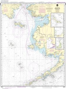 thumbnail for chart Bering Sea-eastern part;St. Matthew Island, Bering Sea;Cape Etolin, Achorage, Nunivak Island