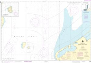 thumbnail for chart Bering Strait North;Little Diomede Island
