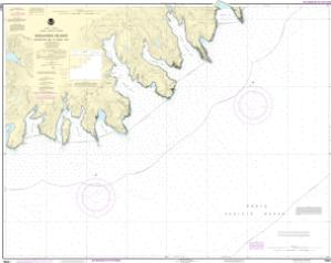 thumbnail for chart Unalaska Island Protection Bay to Eagle Bay
