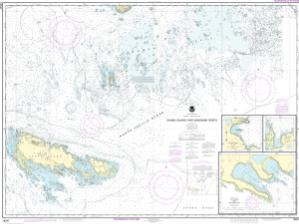 thumbnail for chart Sanak Island and Sandman Reefs;Northeast Harbor;Peterson and Salmon Bays;Sanak Harbor