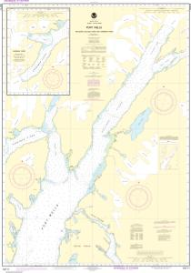 thumbnail for chart Port Wells, including College Fiord and Harriman Fiord