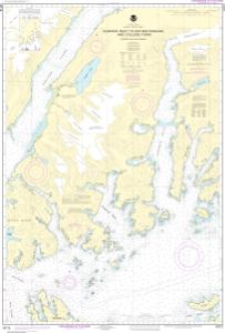 thumbnail for chart Unakwik Inlet to Esther Passage and College Fiord