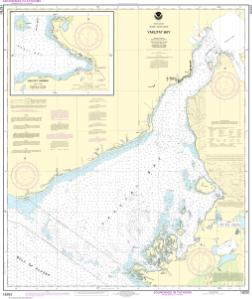 thumbnail for chart Yakutat Bay;Yakutat Harbor