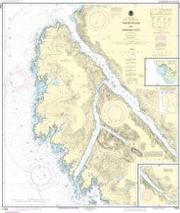 thumbnail for chart Yakobi Island and Lisianski Inlet;Pelican Harbor