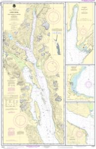 thumbnail for chart Lynn Canal-Point Sherman to Skagway;Lutak Inlet;Skagway and Nahku Bay;Portage Cove, Chilkoot Inlet