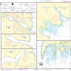 thumbnail for chart Harbors in Chatham Strait and vicinity Gut Bay, Chatham Strait;Hoggatt Bay, Chatham Strait;Red Bluff Bay, Chatham Strait;Herring Bay and Chapin Bay, Frederick Sound;Surprise Hbr, and Murder Cove, Frederick Sound