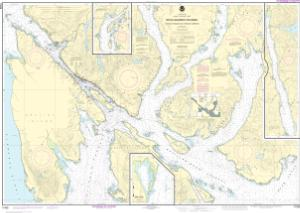 thumbnail for chart Revillagigedo Channel, Nichols Passage, and Tongass Narrows;Seal Cove;Ward Cove