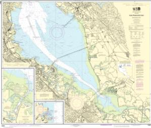 thumbnail for chart San Francisco Bay-southern part;Redwood Creek.;Oyster Point