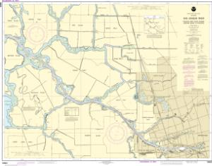 thumbnail for chart San Joaquin River Stockton Deep Water Channel Medford Island to Stockton