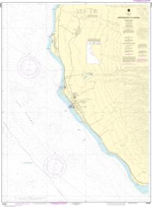 thumbnail for chart Approaches to Lahaina, Island of Maui