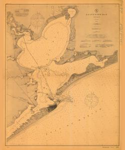 thumbnail for chart TX,1908,Galveston Bay