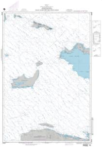 thumbnail for chart Passages Between Acklins Island, Haiti, and Caicos Islands (LORAN-C)