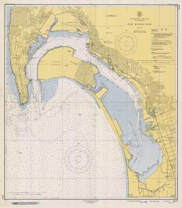 thumbnail for chart CA,1948, San Diego Bay