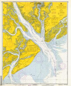thumbnail for chart SC,1966,Port Royal Sound and Inland Passages
