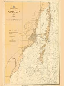 thumbnail for chart FL,1927,Miami Harbor And Approaches
