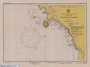 thumbnail for chart CA,1948, Trinidad Harbor