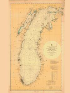 thumbnail for chart WI,1900,Lake Michigan