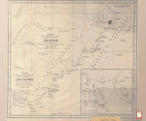 thumbnail for chart AK,1832, SE Coast Of Alaska Peninsula