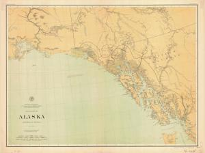 thumbnail for chart AK,1898,Alaska Southeast Section